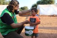 İDLIB - Türkiye'den Hayırseverlerin Sofrası Suriye'de Kuruluyor