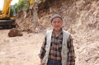 ZEYTINLIK - Yunusemre'den Örselli'de Yol Çalışması