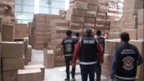 GÜMRÜK MUHAFAZA - 4 Milyon 500 Bin Liralık Kaçak Oyuncağa Polis Baskını