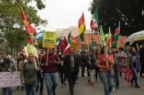 LOS ANGELES - ABD'de 1 Mayıs Kutlamalarında Trump Protestosu