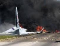 GEORGIA - ABD'de askeri kargo uçağı havaalanı yakınlarında düştü