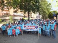 MUSTAFA AYDıN - Aydın Tes-İş 300 İşçiyle İzmir Gündoğdu'ya Çıkartma Yaptı