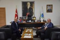 KADİR ALBAYRAK - Başkan Albayrak, Büyükelçi Vural'ı Ağırladı