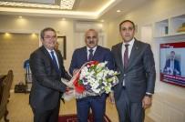 TAKVA - Başkan Takva'dan Vali Zorluoğlu'na Ziyaret