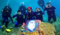 NAHÇıVAN - Denizin Altında Resim Yaptılar