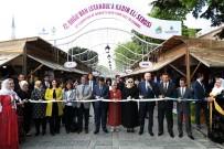 MESLEK EĞİTİMİ - Doğulu Kadınların El Emeği Ürünleri Sultanahmet'te Satışa Sunuldu