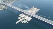 KIYI EMNİYETİ - Dünyanın En Büyük İnşaat Gemisi Pioneering Spirit'in İstanbul Boğazı'ndan Geçişi Havadan Görüntülendi