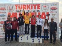 MURAT AYDEMIR - Düzce Üniversitesi Muay Thai'de Türkiye Şampiyonu Oldu