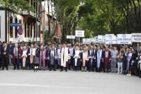 KARATEKIN ÜNIVERSITESI - Festekin'18 Açılış Yürüyüşü Yapıldı