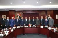 MEHMET TATAR - GTO Yönetimi Ve Meclis Başkanlık Divanına Ziyaretler Devam Ediyor