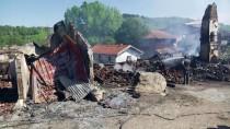 SAMANLıK - GÜNCELLEME - Kastamonu'da 7 Ev Yandı