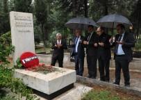 GAZIANTEPSPOR - Kamil Şerbetçi Mezarı Başında Anıldı