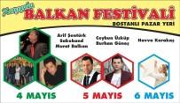 BOSTANLı - Karşıyaka Balkan Festivali İçin Geri Sayım Başladı