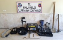 Milas'ta Kaçak Kazı Operasyonu
