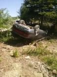 ALEYNA - Otomobil Takla Attı; 3 Yaralı