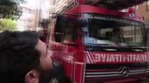 İNTİHAR GİRİŞİMİ - (Özel) Pendik'te İntihar Girişiminde Bulunan Kadını Komşuları Kurtardı