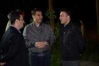 ENVER ÜNLÜ - Vali Ünlü, Asker Ve Polisi Ziyaret Ederek Denetimlerde Bulundu