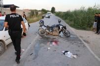 YUNUS TİMLERİ - Adana'da Kaza Açıklaması 2 Polis Yaralı
