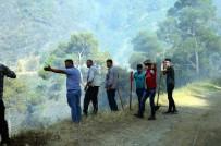 ORMAN İŞÇİSİ - Anızdan Çıkan Yangında 200 Hektar Alan Kül Oldu