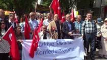 TÜRKİYE SAKATLAR KONFEDERASYONU - Başkentte İsrail Protestosu