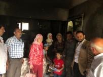 GEÇMİŞ OLSUN - Efeler AK Parti, Evleri Yanan Kaçmaz Ailesine Geçmiş Olsun Ziyareti