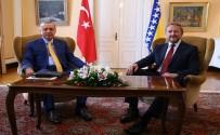 SARAYBOSNA - Erdoğan İzetbegoviç'le Görüştü