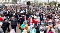 İSRAIL - Fas'tan Filistin'e Destek Gösterisi