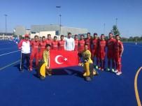 ALİ ŞAHİN - Hokeyde Avrupa Finalinin Adı Gaziantep Polisgücü