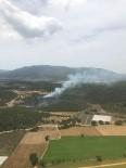 ATAKÖY - İzmir Menderes'te Orman Yangını