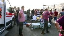 BENGÜ - Manisa'da Trafik Kazası Açıklaması 1 Ölü, 3 Yaralı