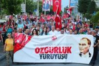 AYTUĞ ATICI - Mezitli'de 'Özgürlük Yürüyüşü' Düzenlendi