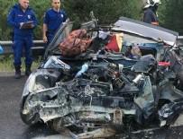 BEBEK - Ankara'da trafik kazası: 3 ölü 1 yaralı