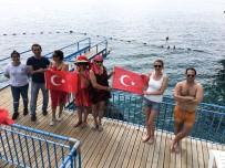 19 MAYıS - Antalya'da mavi bayraklı falez plajları açıldı