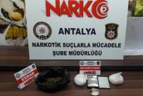 METAMFETAMİN - Antalya'da Uyuşturucu Operasyonu Açıklaması 3 Tutuklama