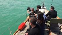 19 MAYıS - Batık Gemiye Dalış Yapıp Türk Bayrağı Açtılar