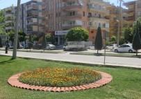 ÇİN - Haliliye'de Parklar Çiçeklerle Donatıldı
