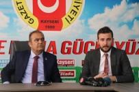 SOYKıRıM - Kayseri Kafkas Dernekleri Birlik Platformu'ndan Gazeteciler Cemiyeti'ne Ziyaret