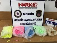 METAMFETAMİN - Mersin'de Uyuşturucu Şebekesine Darbe