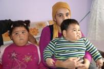 Niğde'de Aşırı Kilo Alan İki Kardeş Yardım Bekliyor