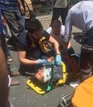 KIREÇBURNU - (Özel) Sarıyer'de 3. Kattan Düşen Boyacı Ağır Yaralandı