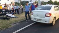 MOTOSİKLET SÜRÜCÜSÜ - Samsun'da Otomobil Motosiklete Çarptı Açıklaması 1 Ölü
