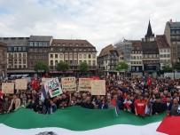 STRAZBURG - Strasbourg'dan Filistin'e Destek