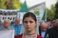 ACıMASıZ - Sürgünün 154. Yılında Çerkezler Yürüyüş Düzenledi