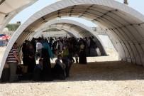 AFRİN - Suriyeliler Bayram İçin Akın Akın Ülkelerine Gidiyor