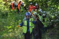 FARKıNDALıK - Temiz Çevre İçin İzmaritler Toplandı