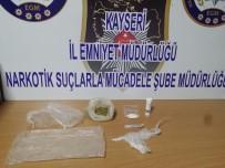 METAMFETAMİN - Yolcu Otobüsünde Uyuşturucu Ele Geçirildi