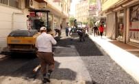 HUZURKENT - Akdeniz Belediyesi'nin Asfalt Ve Kaldırım Çalışmaları Sürüyor