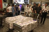 KAÇAK SİGARA - Atatürk Havalimanı'nda Kaçak Sigara Operasyonu