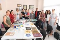BAKIR İŞLEME - Atatürk Kadın Yaşam Köyü'nde Kadınlara Kurs