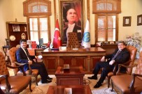 FAHRETTİN POYRAZ - Başkan Can'a Ziyaretler Sürüyor